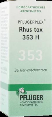 Pfluegerplex Rhus Tox. 353 H Tabl. (PZN 00868224)