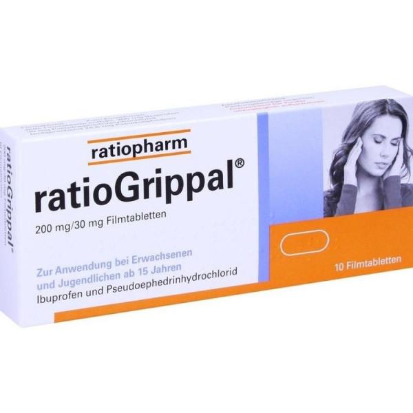 Ratiogrippal 200mg/30mg Ft (PZN 10394075)