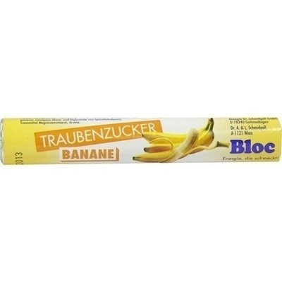 Bloc Traubenzucker Banane (PZN 02700339)