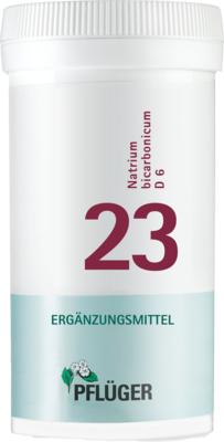 Biochemie Pflueger 23 Natrium Bicarbon.D6 (PZN 06322851)