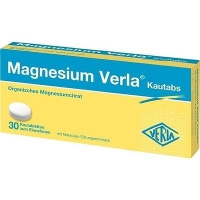 Magnesium Verla Kautabs (PZN 12354513)