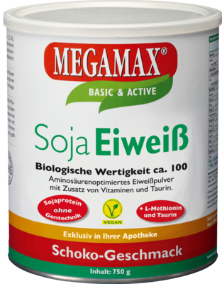 Megamax Soja Eiweiss Schoko (PZN 03034577)