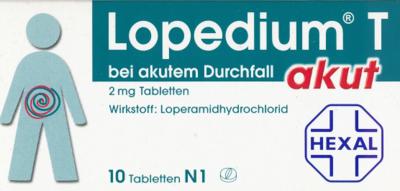 Lopedium T akut bei akutem Durchfall (PZN 03928406)