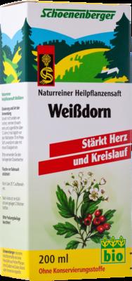 Weissdorn Saft Schoenenberger Saft (PZN 00692386)