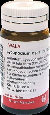 Lycopodium E Planta Tota D12 (PZN 08786543)