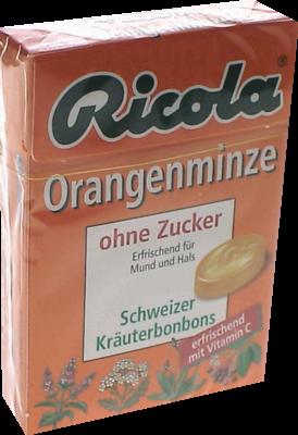 Ricola Schweiz.kraeuterbon.box Orangenminze O.z. (PZN 03912351)