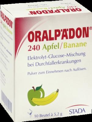 Oralpaedon 240 Pulver Apfel Banane (PZN 02563032)