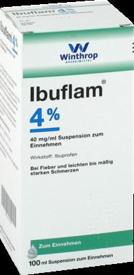Ibuflam 4% Suspension Zum Einnehmen (PZN 09731739)