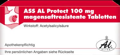 Ass Al Protect 100 Mg Magensaftres. Tabletten (PZN 00149989)