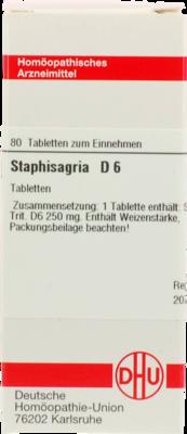 STAPHISAGRIA D 6, 80 St (PZN 02106464)