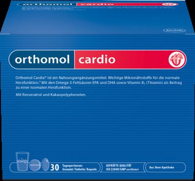Orthomol Cardio Granulat +  30 Kombipckg. (PZN 05919239)