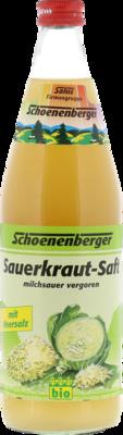 Sauerkraut Saft Bio Schoenenberger (PZN 00692305)