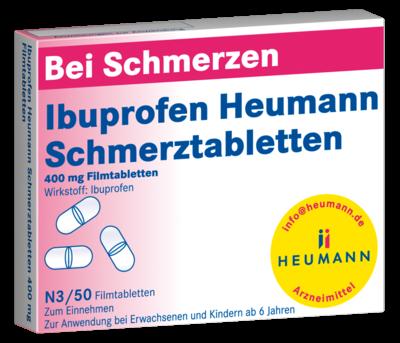 Ibuprofen Heumann Schmerztabletten 400mg (PZN 07728561)