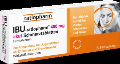Ibu Ratiopharm 400 Akut Schmerztbl. Filmtabl. (PZN 00266040)