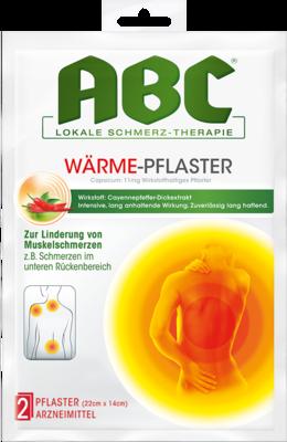 Abc Wärme-Pflaster Capsicum Hansaplast med 14x22 (PZN 02295643)