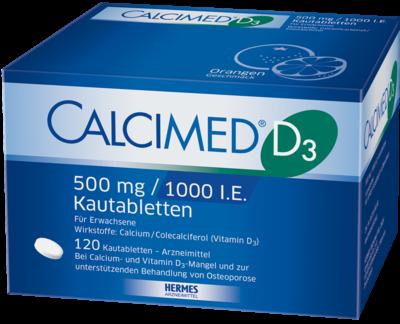 Calcimed D3 500 Mg/1000 I.e. (PZN 07682511)