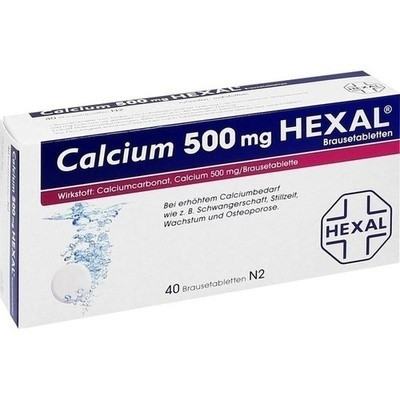 Calcium 500hexal (PZN 07383903)