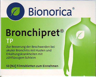 Bronchipret Tp Filmtabletten (PZN 00168484)