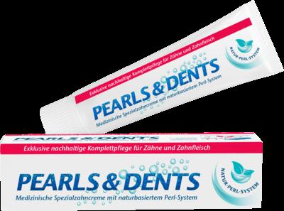 Pearls & Dents Spezialzahncreme mit naturbasiertem Perlsystem (PZN 10537936)