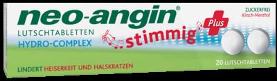 Neo Angin Stimmig Plus Kirsche (PZN 07041249)