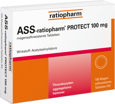 Ass ratiopharm Protect 100 mg magensaftr. (PZN 06718649)