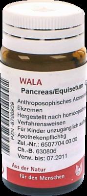 Pancreas/ Equisetum (PZN 08786939)