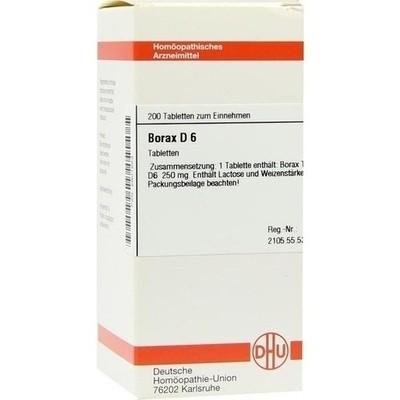 Borax D 6 (PZN 02801253)