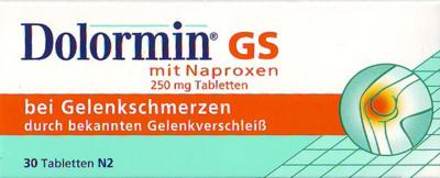 Dolormin Gs Mit Naproxen Tabl. (PZN 00660038)