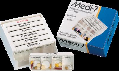 Medi-7 Medikamentendosierer für 7 Wochentage (PZN 03812431)