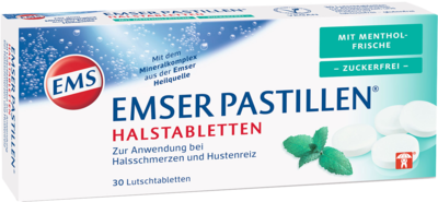 Emser Pastillen mit Mentholfrische zuckerfrei (PZN 11108025)