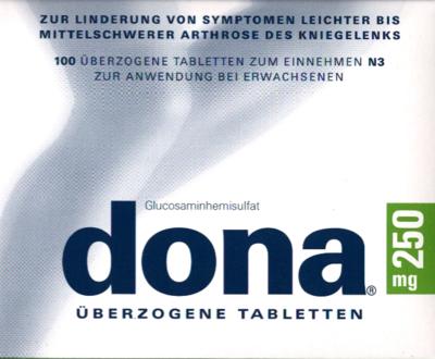 Dona 250 Tabl.ueberzogen (PZN 04849169)