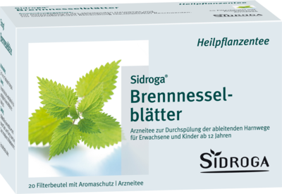 Sidroga Brennesselblättertee (PZN 01884722)