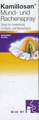 Kamillosan Mund- und Rachen (PZN 05973405)