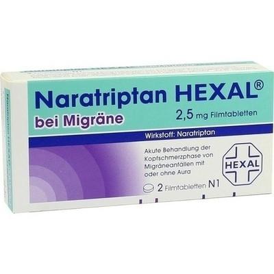 Naratriptan Hexal bei Migräne 2,5mg (PZN 09334719)