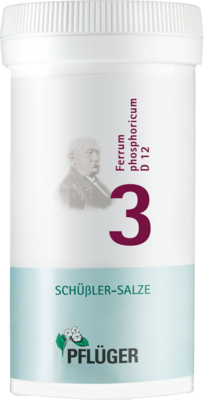 Biochemie Pflüger 3 Ferrum phosphoricum D12 (PZN 06318861)