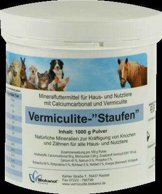 Vermiculite Staufen Pulver Vet. (PZN 04178249)