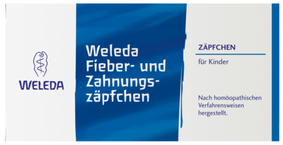 Fieber- und Zahnungszäpfchen (PZN 02565203)