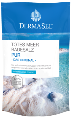 Dermasel Totes Meer Badesalz Pur (PZN 07588019)
