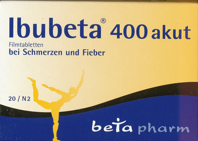Ibubeta 400 Akut Filmtabl. (PZN 00179737)