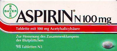 Aspirin N 100mg (PZN 05387239)