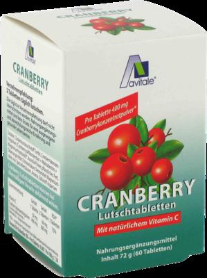 Cranberry Lutschtabletten (PZN 00784898)