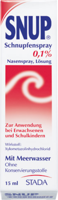 Snup Schnupfenspray 0,1% Dos. (PZN 04482680)