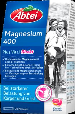 Abtei Magnesium 400+vitamin B Komplex (PZN 07641038)