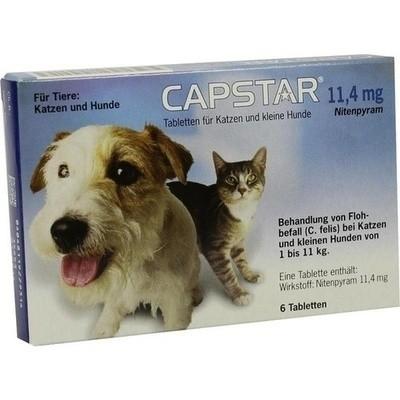 Capstar 11,4 Mg F.katzen U.kleine Hunde (PZN 01276359)