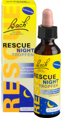 Bach Original Rescue night Tropfen alkoholfrei (PZN 10399693)