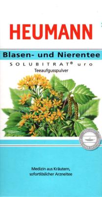 Heumann Blasen- und Nierentee SOLUBITRAT uro (PZN 02680720)
