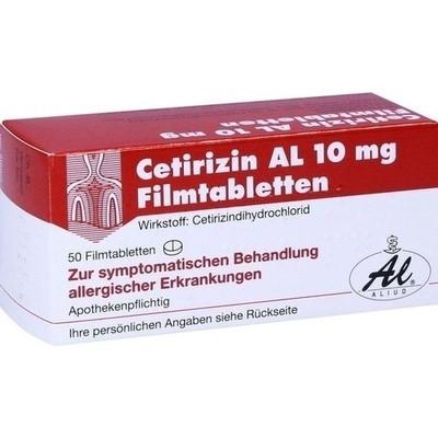 Cetirizin Al 10mg (PZN 02406628)