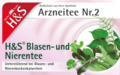H&s Blasen- Und Nierentee Btl. (PZN 00192761)