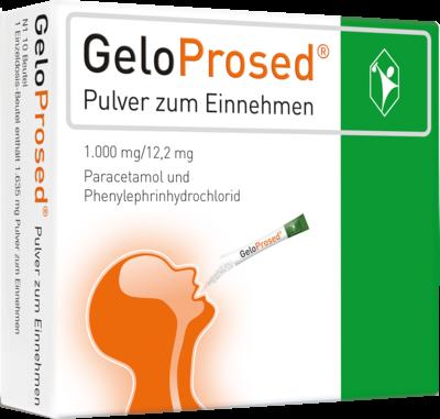 Geloprosed Pulver zum Einnehmen (PZN 09920943)