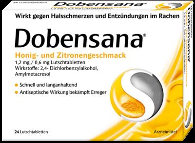 Dobensana Honig und Zitronengeschmack 1,2mg&0,6mg (PZN 11128039)